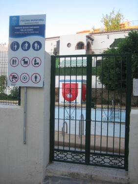 piscina de bédar