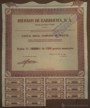 HIERROS DE GARRUCHA