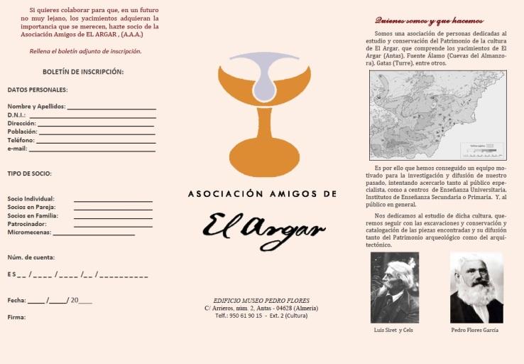 TRIPTICO AMIGOS DEL ARGAR