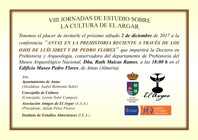 Invitación Conferencia Antas 2017